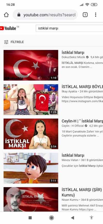 YouTube'da Açılan Videoyu Arka Planda Oynatma